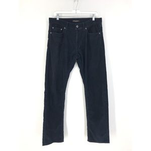 Banana Republic 32x32 Navy Blue Corduroy Pants